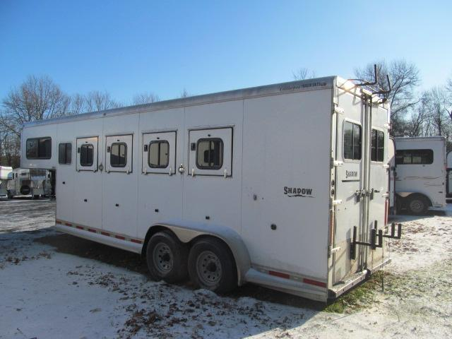 2010 Shadow Trailers 4/5 Racer Horse Trailer Horse Trailer