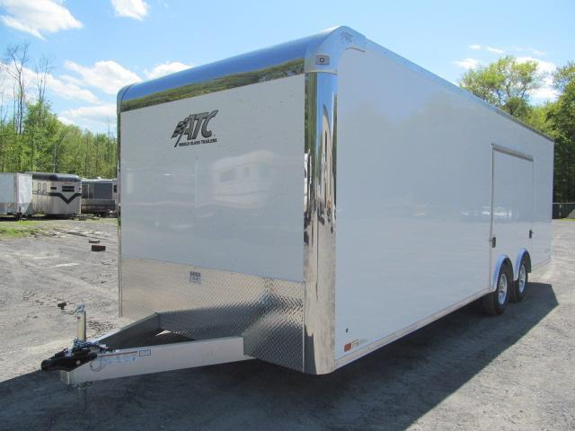 2020 ATC 8.5 X 24 Raven Car Hauler w/ Premium Escape Door