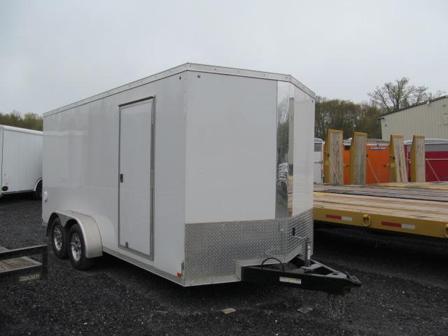 2019 Sure-Trac 7x16 V Front Enclosed Cargo Trailer