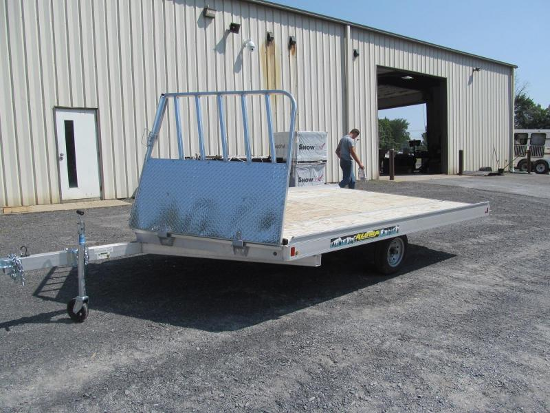 Aluma 8612 2 Place Snowmobile Trailer