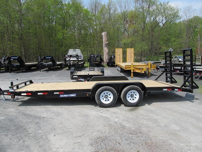 Sure-Trac 7 X 18 10K Implement Equipment Trailer