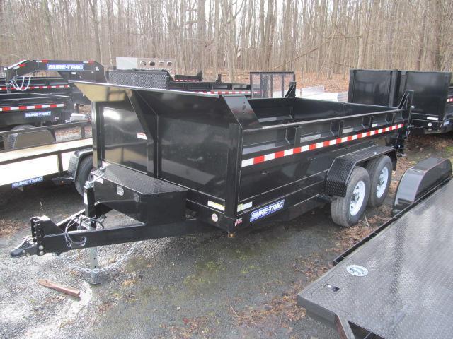 Sure-Trac 7 X 14 14K Low Profile Dump Trailer