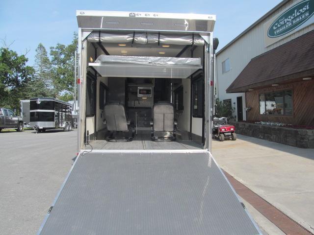 Aluminum Trailer Company ALL ALUMINUM 5th Wheel Toy Hauler