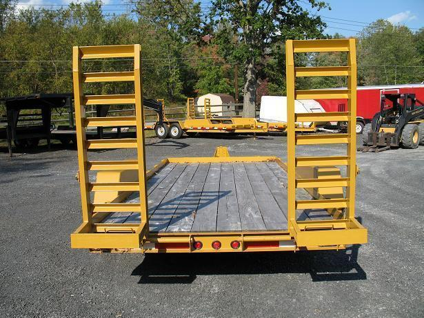 Winston 7 Ton 16 Ft BW Equipment Trailers