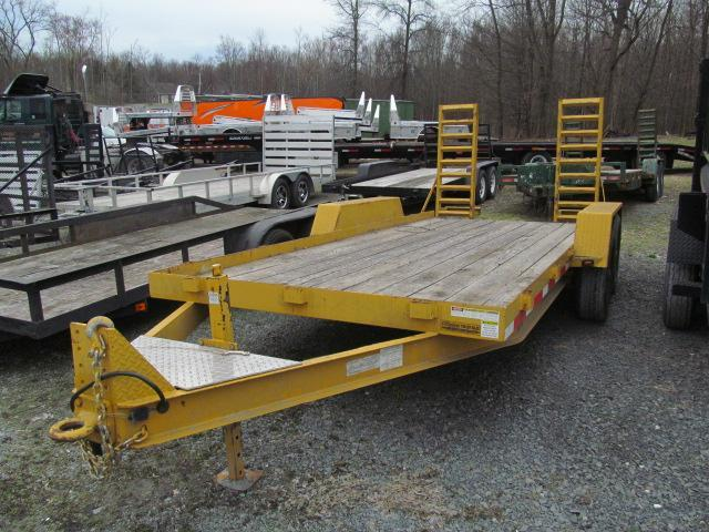 2013 Winston BW 7 Ton Skid Steer Trailer Equipment Trailer
