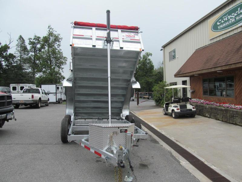 N and N Trailers Inno Series Galvanized Dump Trailer