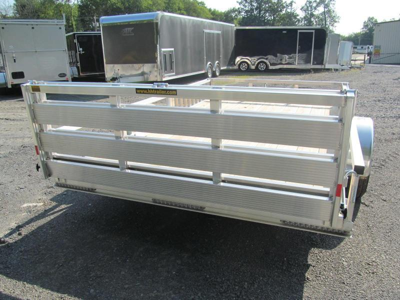 H and H Trailer 76 X 12 Utility Trailer