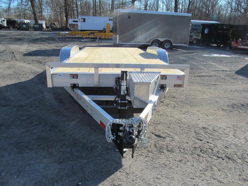 2019 H and H Aluminum Speedloader 80 X 24 Equipment Trailer