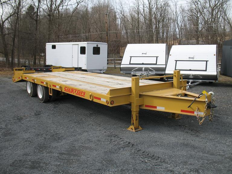 Custom Heavy Haul 20 Ton Equipment Trailer