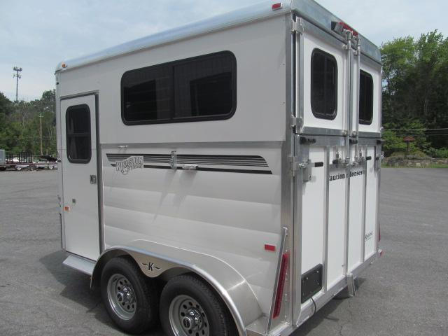 Kingston Trailers Inc. Classic Elite 2 Horse Horse Trailer