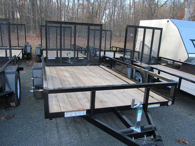 Sure-Trac 7 X 12 Tube Top Utility Trailer
