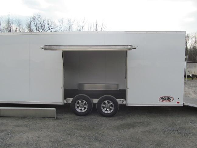 2020 Aluminum Trailer Company 8.5 X 24 Raven CH Plus w/ Premium Escape Door