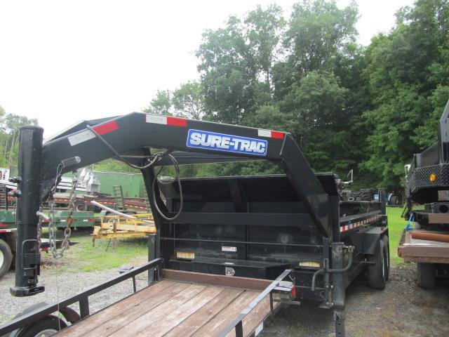 Sure-Trac 5 X 10 Low Profile Dump Trailer   Horse, Stock