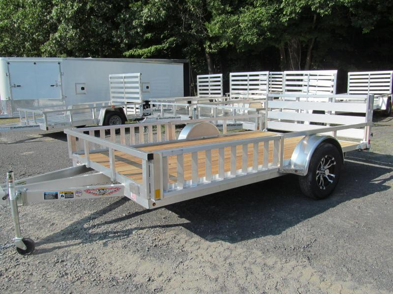 H and H Trailer 7 X 12 ATV Utility Trailer