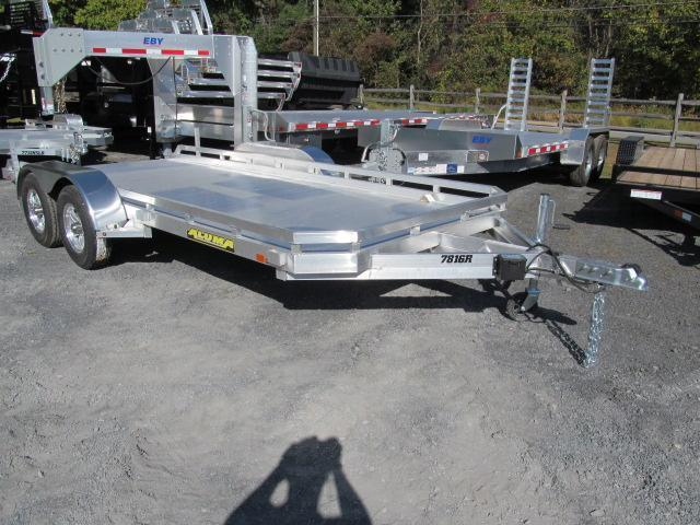Aluma 7814 Open Car Trailer