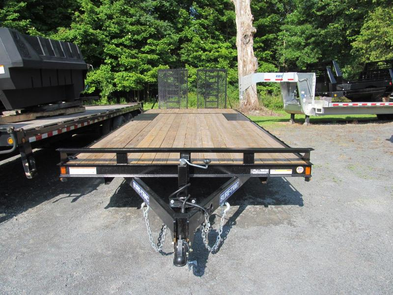 2020 Sure-Trac 8.5 X 24 Low Pro Deckover with Gates