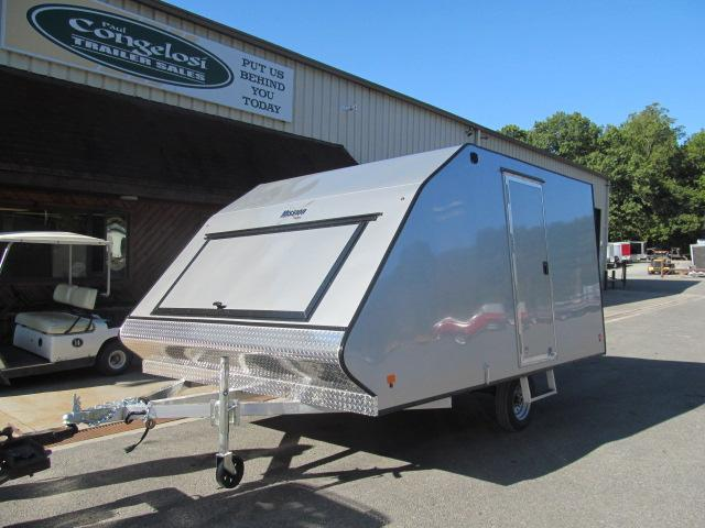 2020 Mission 2 Place Crossover w/ Side Door and Ski Guides Snowmobile Trailer