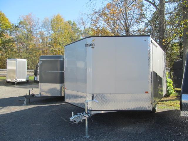 Mission 2 Place Crossover 2.0 w/ Side Door and Ski Guides Snowmobile Trailer