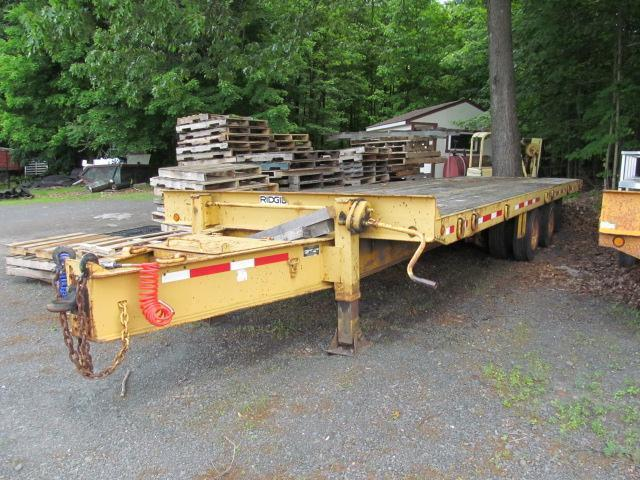 2002 Evaco Superline 20 Ton Tilt Equipment Trailer