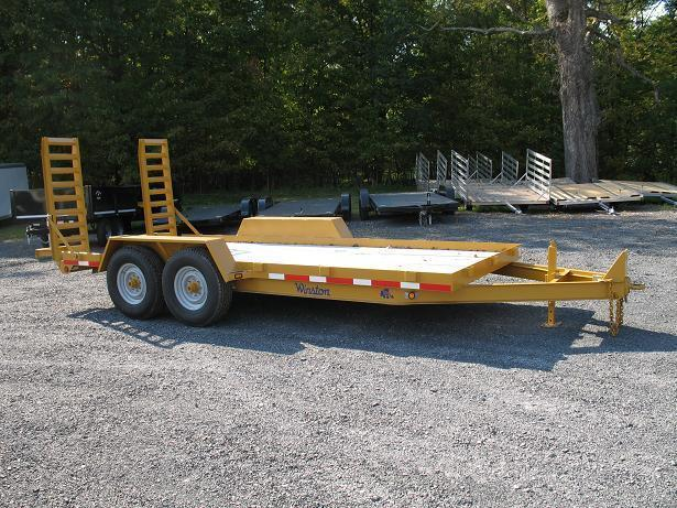 Winston 7 Ton 20 Ft BW Equipment Trailers