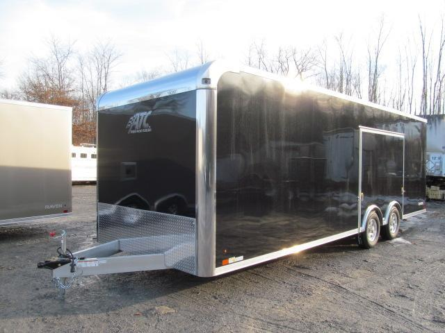 2019 ATC 8.5 X 24 Raven Car Hauler w/ Premium Escape Door