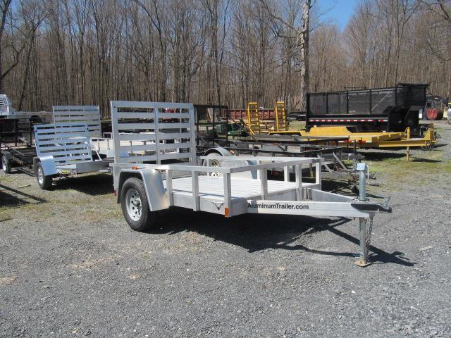 2018 Aluminum Trailer Company 5x8 with Gate Utility Trailer