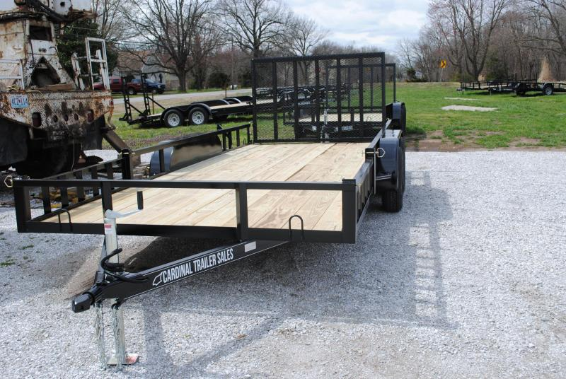 2020 Cardinal Trailer MFG SIDE RAIL RAMP Utility Trailer
