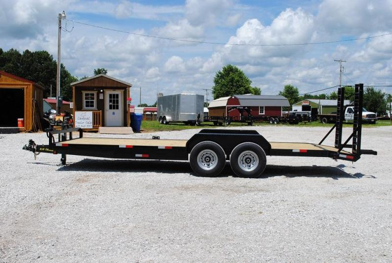 "2019 B/R 82"" X 20' Equipment Trailer"