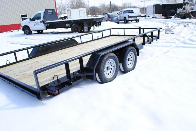 """2020 CTS 82"""" X 16' PIPETOP Utility Trailer"""