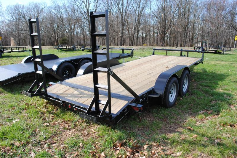 "2019 CTS 82"" X 18' Car / Racing Trailer"