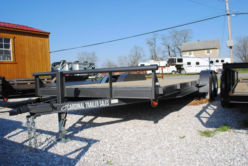 "2020 Cardinal Trailer MFG 82"" X 20' Car / Racing Trailer"