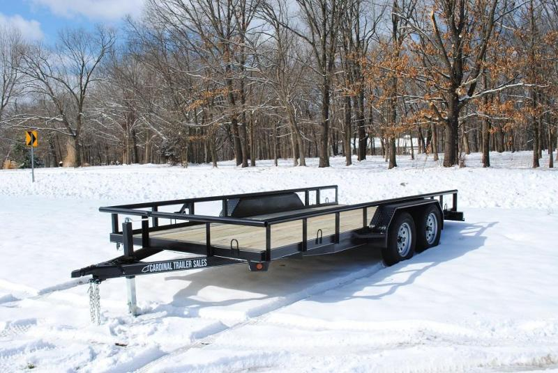 2020 Cardinal Trailer MFG Heavy Duty Pipetop Utility Trailer