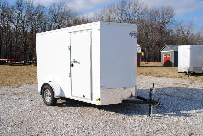 2021 Continental Cargo 6X10 SA Enclosed Cargo Trailer