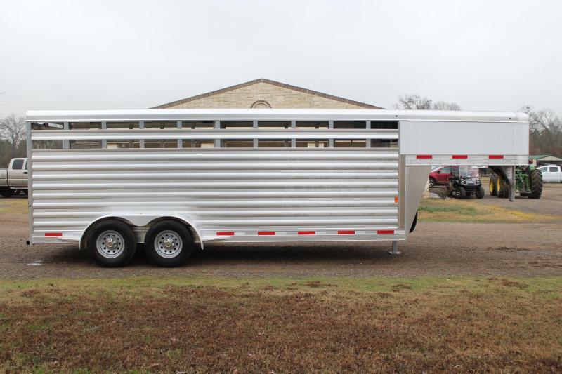 2020 Exiss 20ft x 6.8ft Livestock Trailer