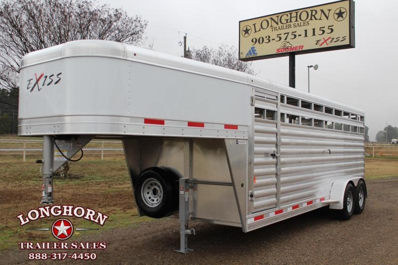 2020 Exiss 20ft x 6.8ft Livestock Trailer
