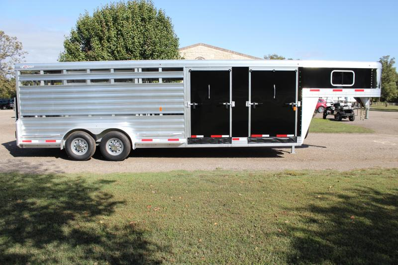 2020 Exiss 24ft Show Cattle Combo with Two Side Ramps and 4 Pens
