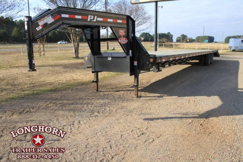 2019 PJ Trailers 44ft Dovetail Flat Bed Flatbed Trailer