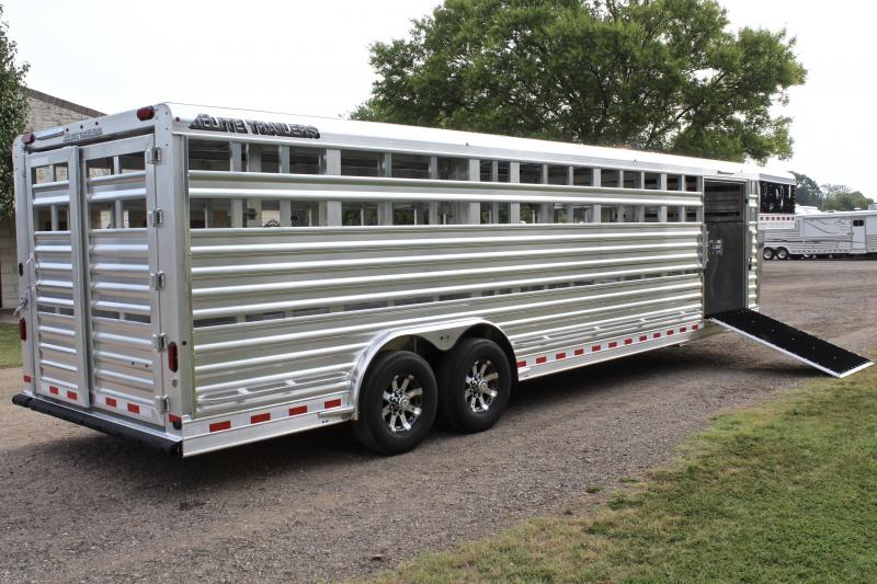 2020 Elite 28ft x 8ft with Side Ramp and Floating Gate