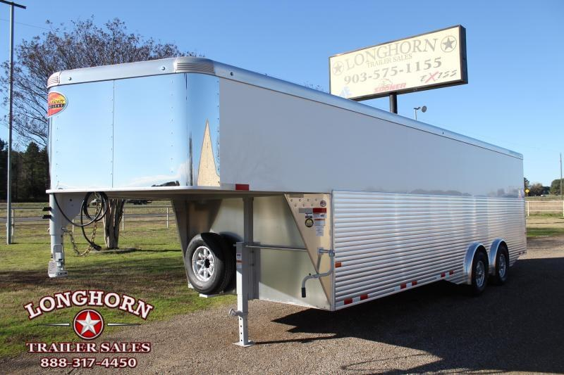 2020 Sundowner Trailers 24ft Cargo with Spread Axles with Full Rear Ramp Enclosed Cargo Trailer