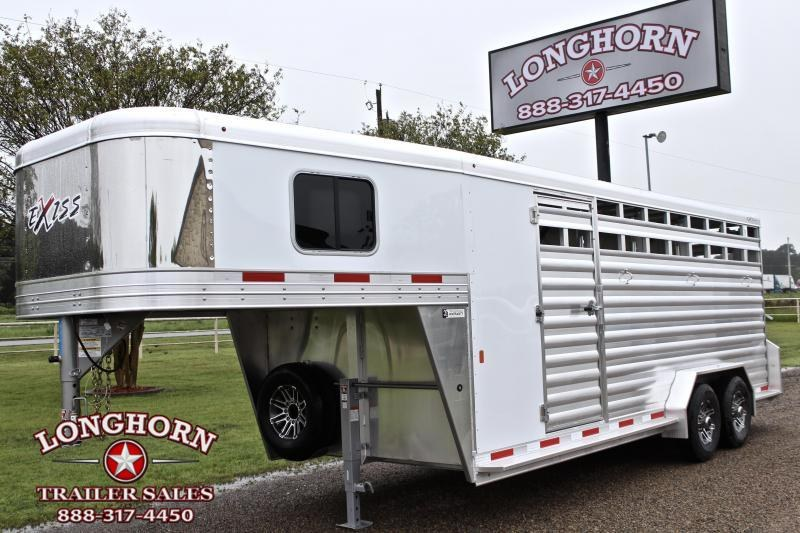 2020 Exiss 4 Horse Combo with Front Tack Room