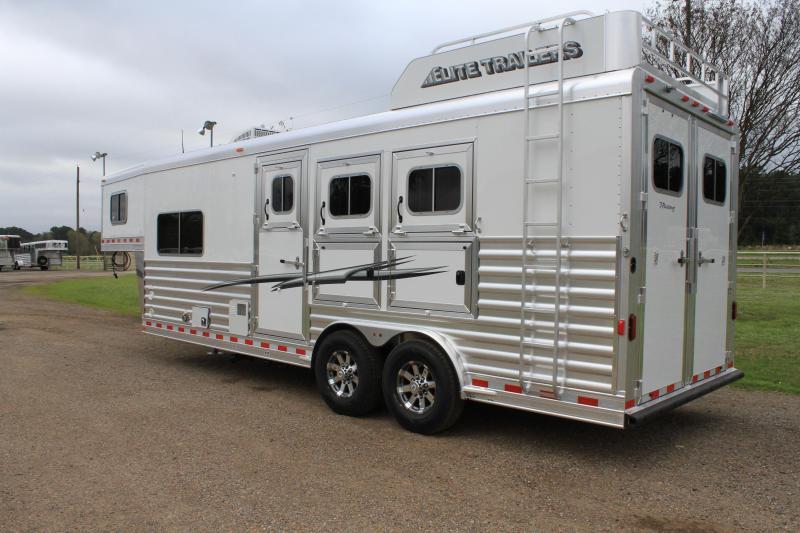 2020 Elite 3 Horse 8.8ft LQ Mangers