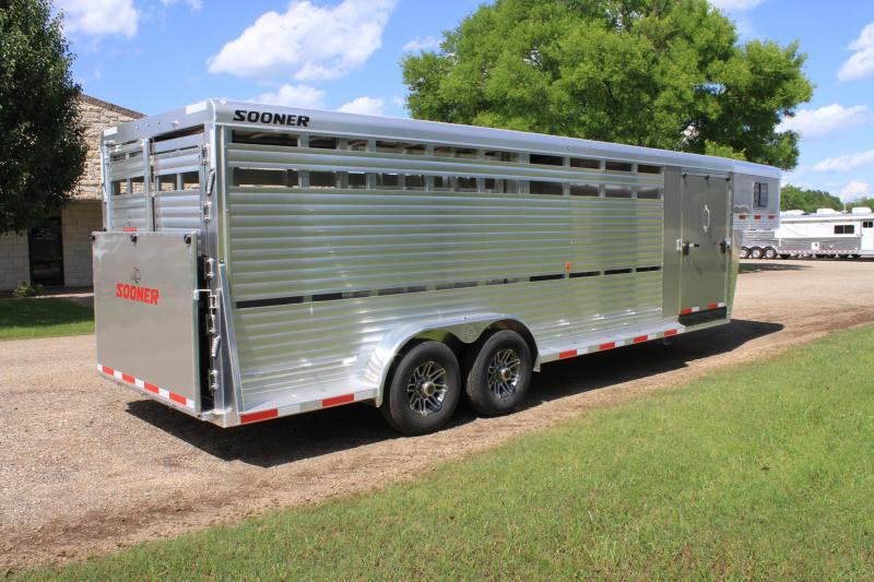 2020 Sooner 24ft Show Cattle Combo with 4 Pens and Ramp