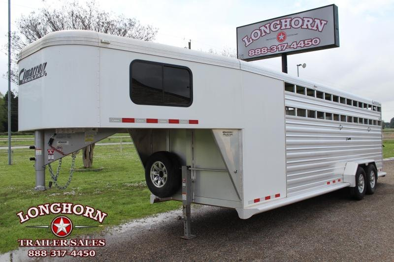 2017 Cimarron 24ft Stock Combo with a 4ft Tack Room