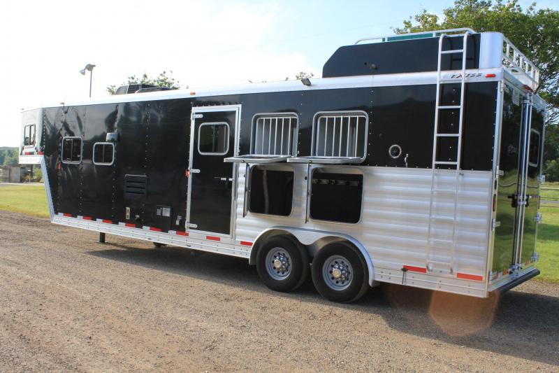 2014 Exiss 3 Horse 12 Ft Lq w/ Generator