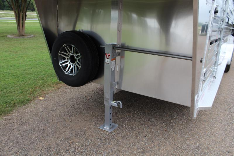 2020 Exiss 24ft Stock Trailer with Side Ramp