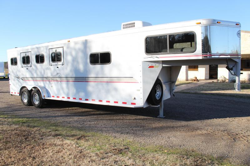 2000 Sundowner 4 Horse with 5ft Tack Room