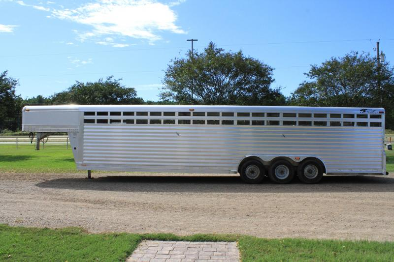 2004  4-Star 8 x 32 Stock Trailer