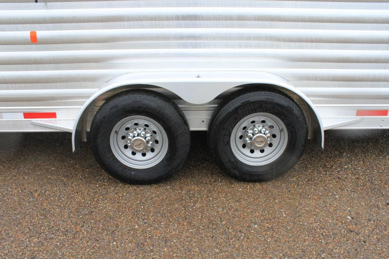 """2020 Exiss Trailers 24' x 6'8"""" Stock Trailer"""