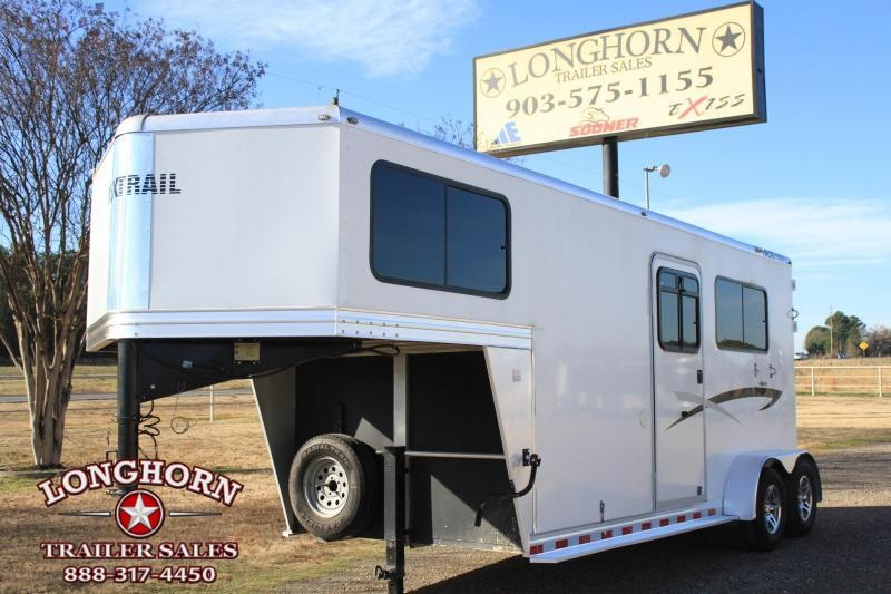 2012 Nextrail Trailers 2 Horse Straight Load Gn Horse Trailer