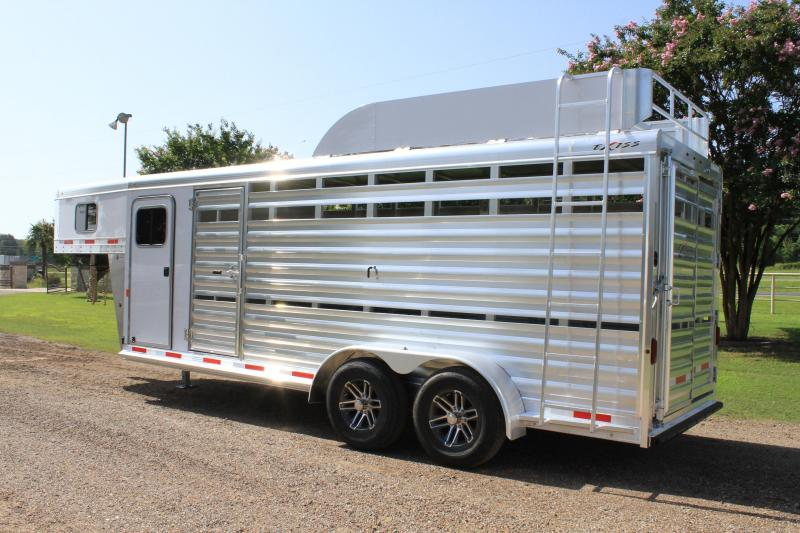 2020 Exiss 20ft Stock Combo with Hayrack